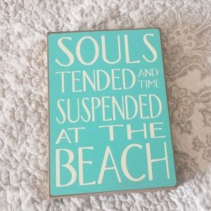 Beach sign for your home